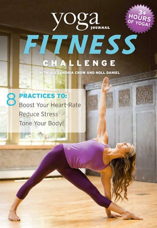 AC Yoga Journal Fitness Challenge DVD cover